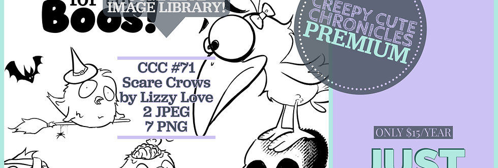 CCC# 71 SCARE CROWS Creepy Cute Chronicles