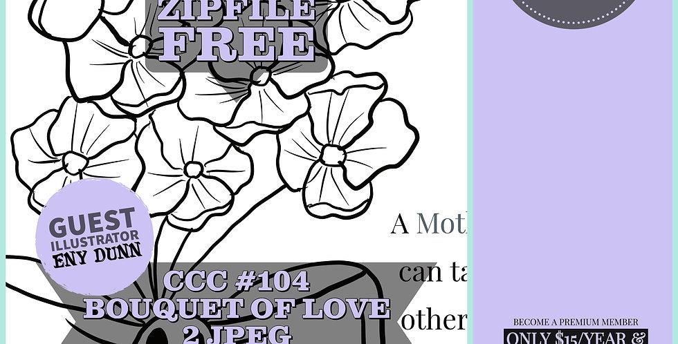 CCC# 104 BOUQUET OF LOVE Creepy Cute Chronicle
