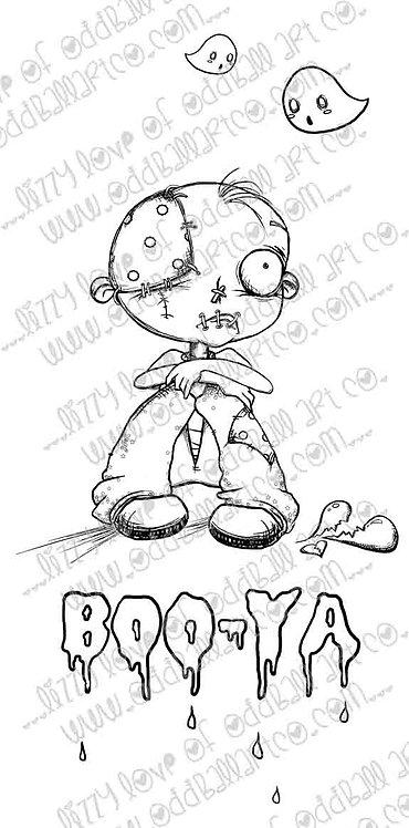 Digital Stamp Creepy Cute Ghouls Gloomy Guss Image No. 222