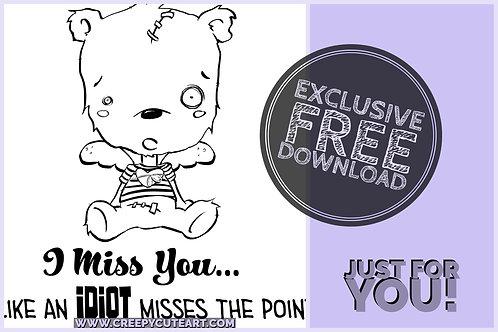 CCC# 62 JOLLY BEAR Creepy Cute Chronicles