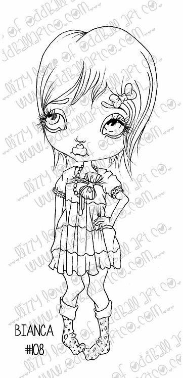 Digi Stamp Big Eye Sassy Girl Bianca Image#108