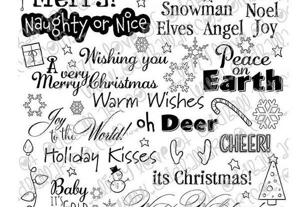 Digi Stamp Ultimate Christmas Digital Collage Sheet Only A Dollar Image # 498