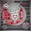 Thumbnail: Digi Stamp Creepy Cute Owl & Skull Simon Owl Heart Image No 189