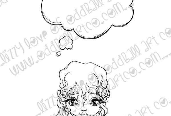 Digital Stamp Writing Speech Bubble Sentiments Letter to Mom Image No. 377