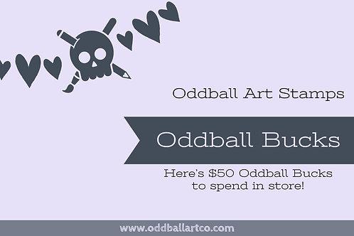$50 Oddball Gift Card