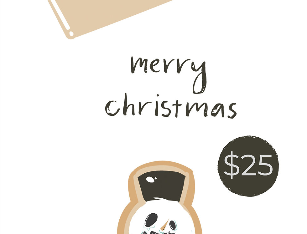 $25 Gift Card Christmas Special Subscriber Special