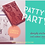Thumbnail: Rubber Stamp Limited Edition Patty's Party