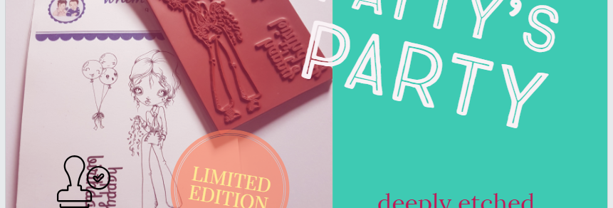 Rubber Stamp Limited Edition Patty's Party