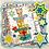 Thumbnail: Digital Stamp Cute Kawaii Bear on Stack of Presents Image No. 260