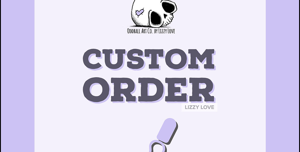 Custom Order for Rebecca Rainbow Skull