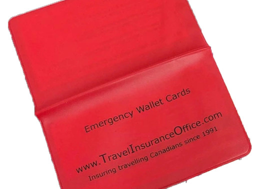 Carry Your Wallet Cards!
