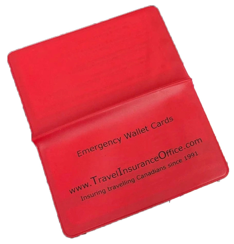 Emergency Wallet Cards