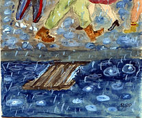 RUS019(Street Scene in Rain).jpg
