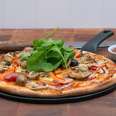 Pizza with Chargrilled Antipasto Relish