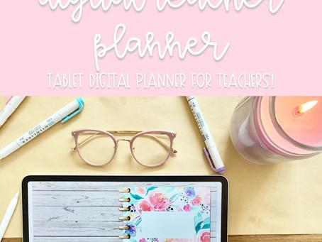 Digital Teacher Planner + My Setup