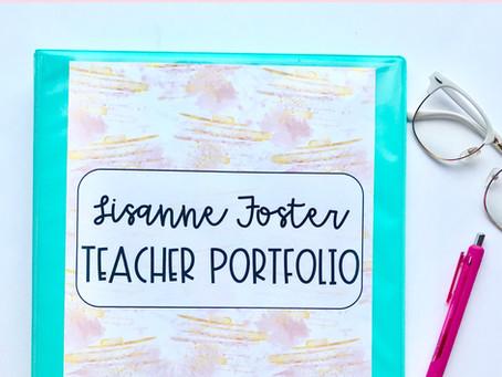 Land Your Dream Job: Teacher Portfolio