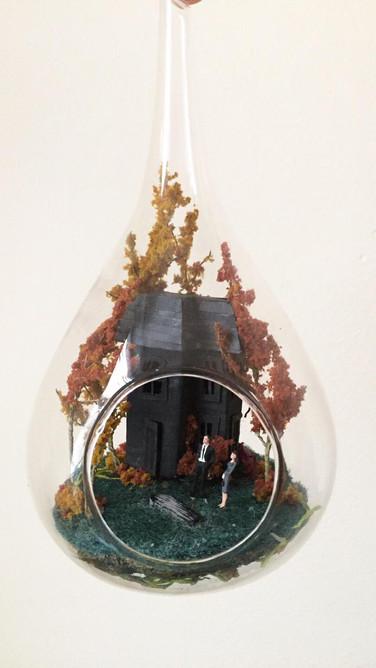 Autumn Putz House