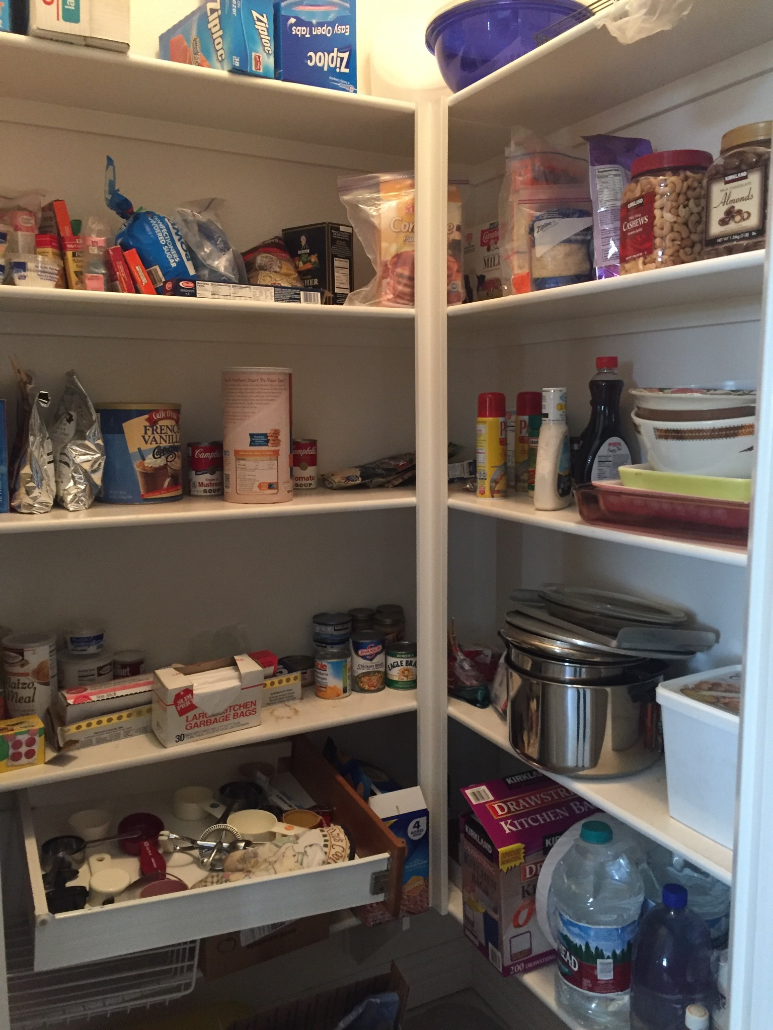 Before - Kitchen Pantry