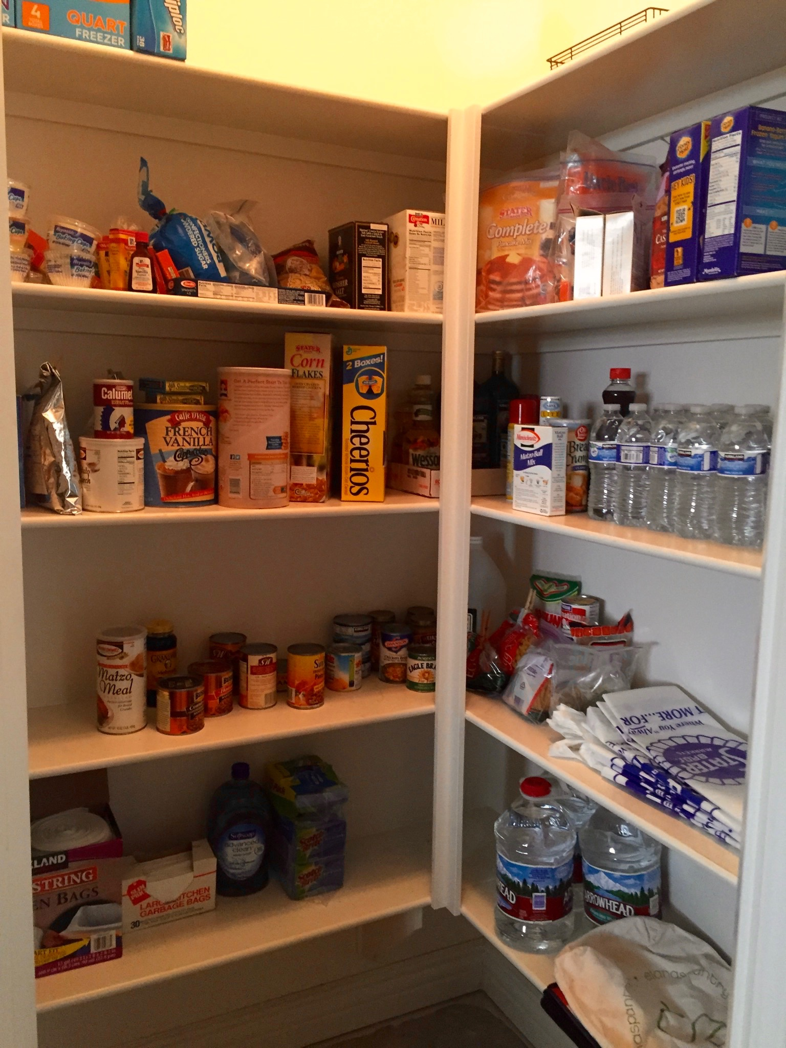 After - Kitchen Pantry