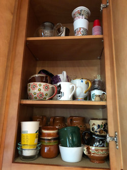 Before: Mugs Cabinet