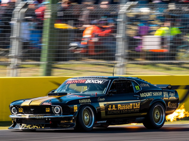 The J. A. Russell Ltd Mustang
