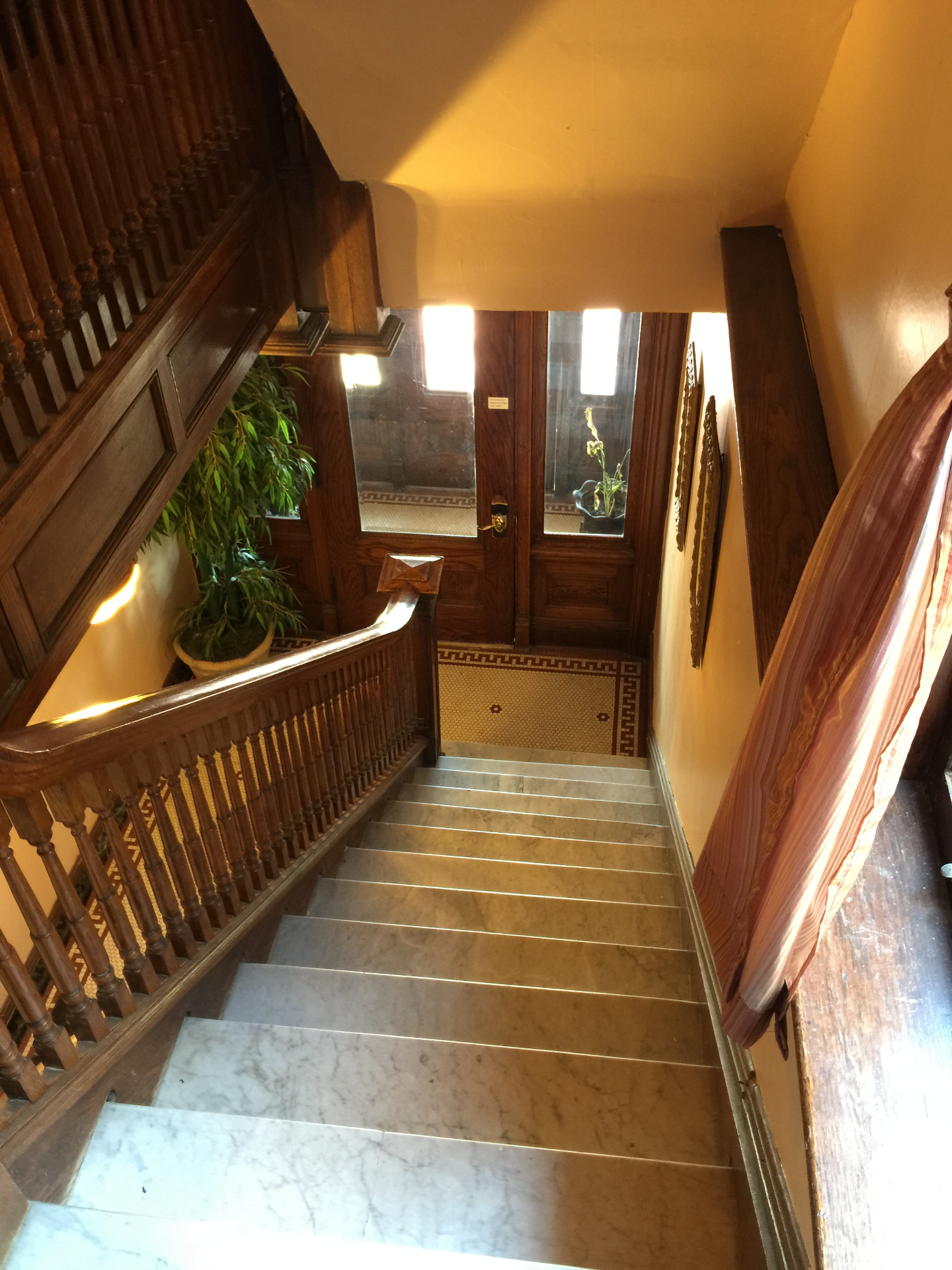 Staircase to Unit #2