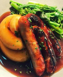 Knightwick Sausage & Mash