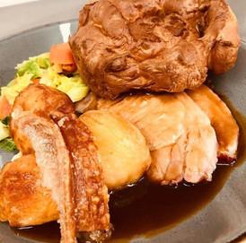 Knightwick Pork Sunday Lunch