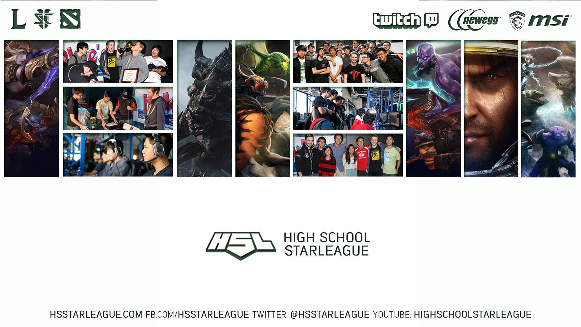 HSL Twitch Stream Overlay