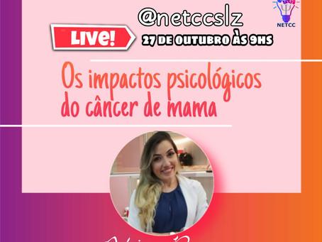Impactos psicológicos do câncer de mama serão abordados em live