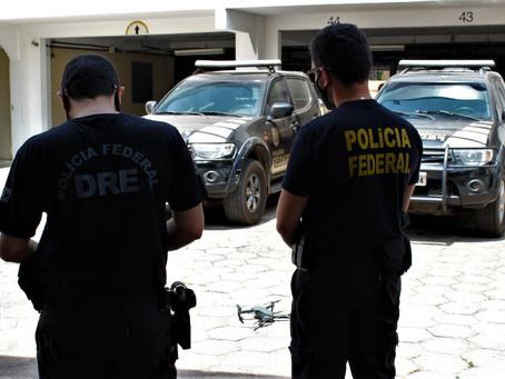 PF realiza exercício simulado de uso de drones em três cidades do Maranhão