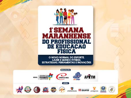 'Semana Maranhense do Profissional de Educação Física' começará amanhã
