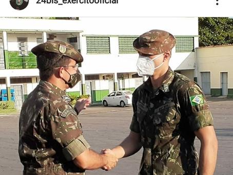 Militares do 24º BIS retornam após missão humanitária aos imigrantes venezuelanos