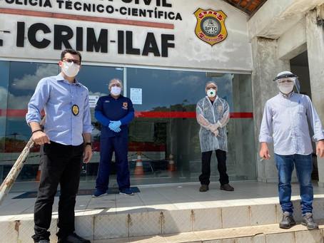 Apesar da pandemia, Icrim/São Luís obteve produtividade impressionante em todas as seções