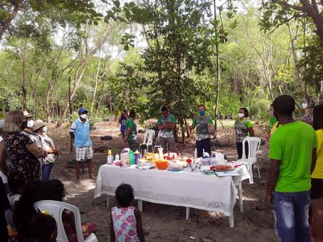 Evento sustentável com plantio de mudas é realizado na APA do Itapiracó