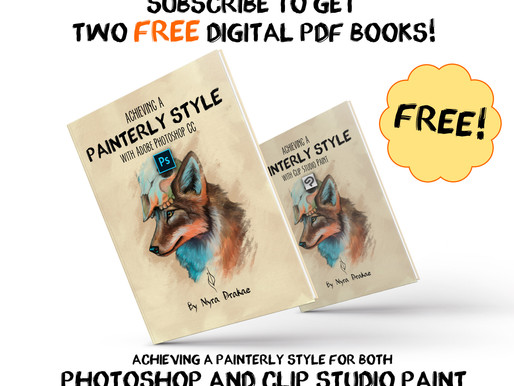 Achieving a Painterly Style in PHOTOSHOP and CLIP STUDIO PAINT