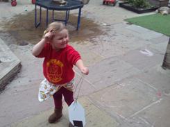 Flying our kites