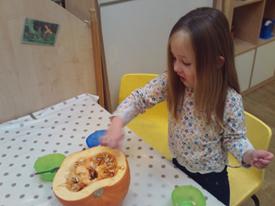 Pumpkin and painting week!