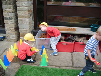 What's new in the outdoor area?