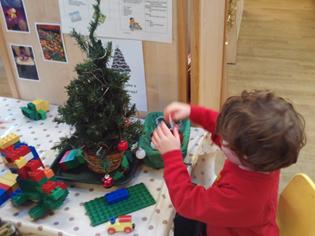Christmas and dinosaurs!