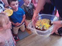 Leavers' cake