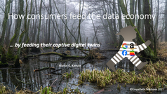 How consumers feed the data economy ... by feeding their captive digital twins