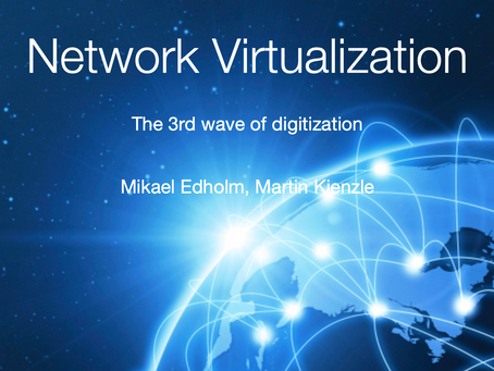 Network virtualization is the 3rd wave of digitization