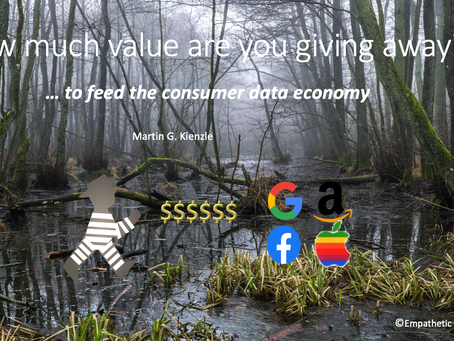 How much value are you giving away to feed the consumer data economy?