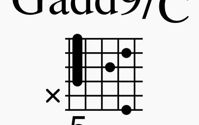 [ドライフラワーはアコギだけで弾いてもカッコ良かった。(優里)]で使用しているコードフォームについて解説!!