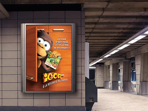 Campagne de relancement Igor