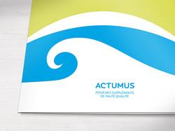 Ligne de produits naturels Actumus