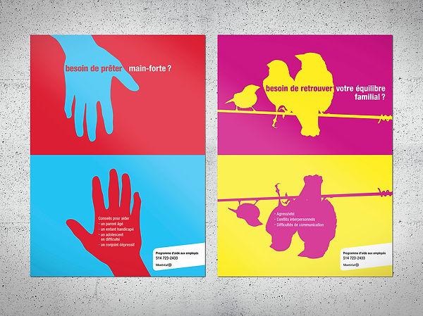 Campagne de promotion des services d'aide aux employés