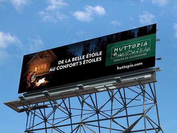 Campagne de lancement Huttopia au Québec