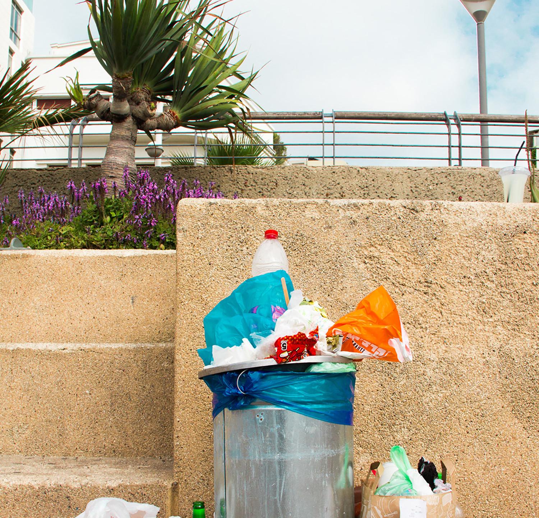 Boardwalk Trash